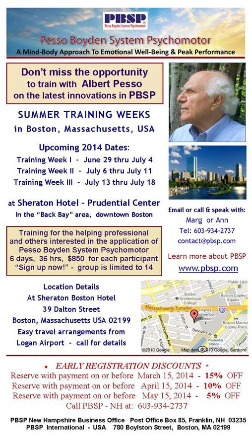 summer 2014 training